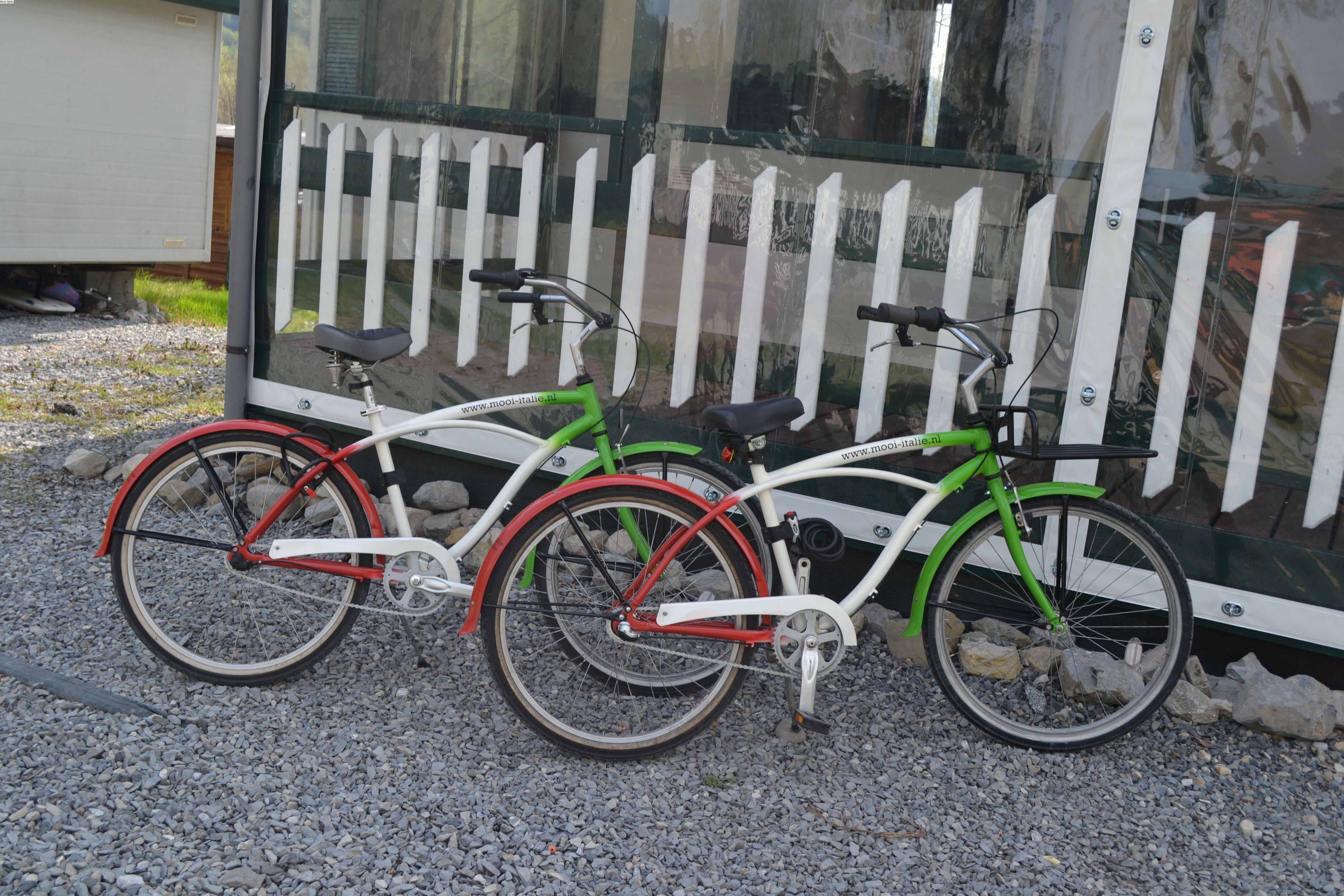 Torino 9 - fietsen bij chalet
