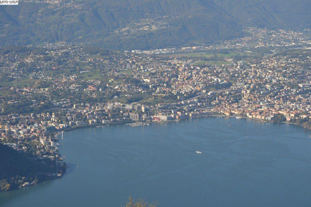 Sighignola - uitzicht over Lugano