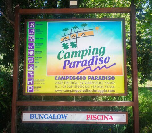 Bord camping Paradiso